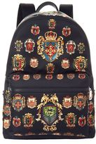 Dolce & Gabbana Coat Of Arms Backpack