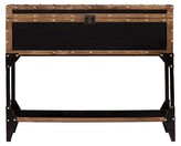 Southern Enterprises Mason Trunk Console Metal/Brown