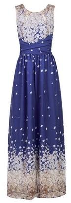 Dorothy Perkins Womens *Jolie Moi Blue Floral Print Maxi Dress, Blue