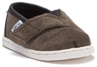 Toms FUR Classic Alpargata Faux Shearling Slip-On Sneaker (Toddler, Little Kid & Big Kid)