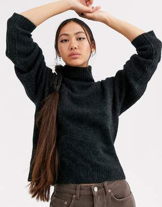 Asos super soft alpaca wool roll neck-Multi