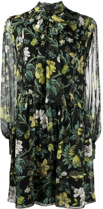Erdem Remy Ashcombe Forest-print dress