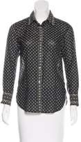 Etoile Isabel Marant Cotton Button-Up Blouse