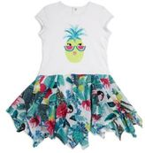 Catimini Toddler's, Little Girl's & Girl's Pineapple Printed Dress