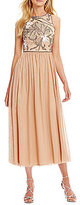 Gianni Bini Elise Beaded Midi Dress