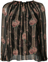 Needle & Thread embroidered blouse