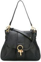 Chloé Lexa cross-body bag - women - Cotton/Calf Leather/Lamb Skin - One Size