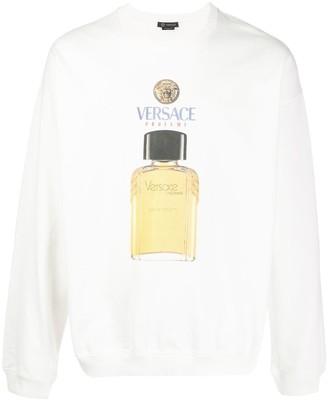 Versace Perfume Print Sweatshirt