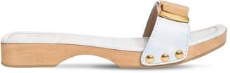 Jacquemus 20mm Les Tatanes Leather Slides