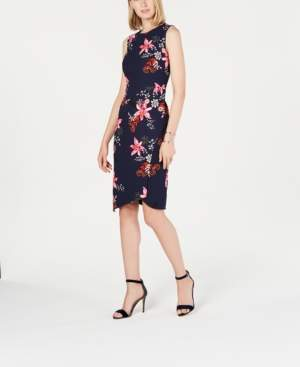 Vince Camuto Floral-Print Bodycon Dress