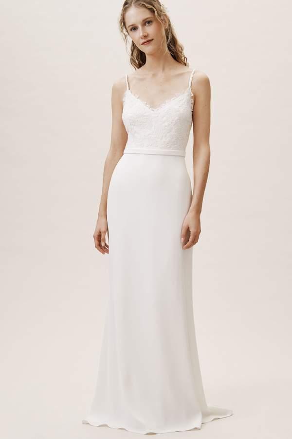 Tadashi Shoji Wedding.Brett Gown