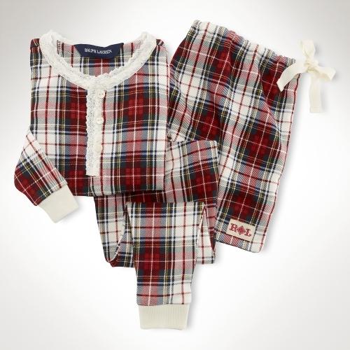 Plaid Pajama Set