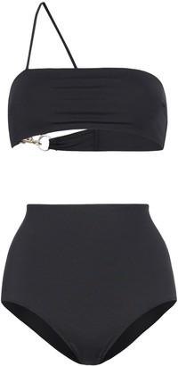 Rudi Gernreich Asymmetric Strap Bikini Set