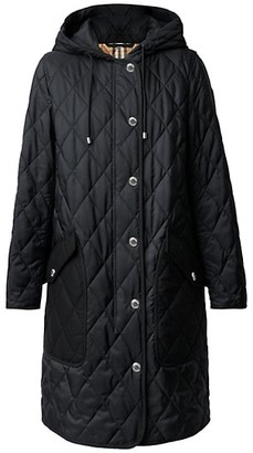 Burberry Roxby Quilted Nylon Canvas Coat