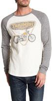 Lucky Brand Triumph Badge & Bike Shirt