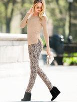 Victoria's Secret Siren Animal-print Jean