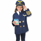 Melissa & Doug 6-Pc. Pilot Role Play Set Dress Up Costume