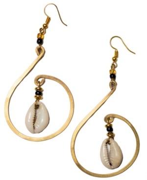 Kendi Amani Mombasa Cowrie Shell Earrings