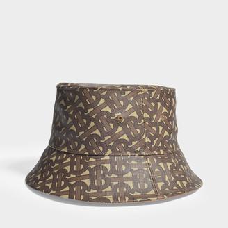 Burberry Bucket Hat In Monogram Canvas