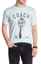 Body Rags Short Sleeve Cheers Coach Front Graphic Tee