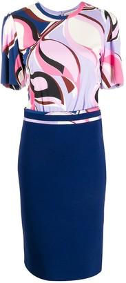 Emilio Pucci Heliconia print dress