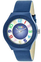 Crayo Unisex Blue Strap Watch-Cracr3506