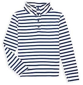 Vineyard Vines Little Girl's & Girl's Long-Sleeve Stripe Top