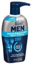 Nair Men Hair Removal Body Cream 13 oz (Pack of 3)