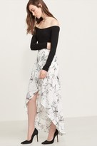 Dynamite High Low Wrap Maxi Skirt