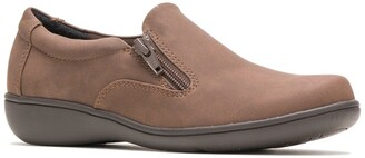 Hush Puppies Joella Zip Side Shoe - Multiple Widths Available