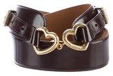 Moschino Heart Waist Belt