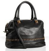 Chloe black calfskin 'Kira' medium bag