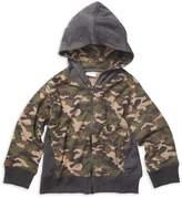 Mish Mish Mish-Mish Camouflage Hooded Cotton Jacket