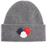 Moncler Wool Triple Logo Beanie