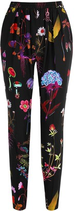 Stella McCartney Christine floral-print silk trousers