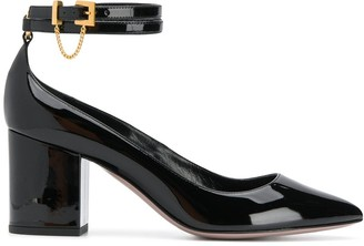 Valentino double ankle strap pumps