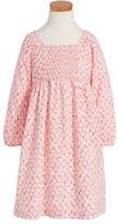 Tea Collection 'Anzu' Floral Print Smocked Dress (Toddler Girls, Little Girls & Big Girls)