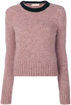 Marni two tone jumper - women - Polyamide/Wool/Alpaca - 40