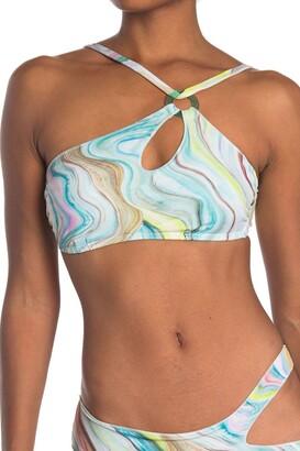 Bikini Lab New Wave One-Shoulder Bikini Top