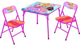 Nickelodeon Sunny Day 3 Piece Collapsible Kids Table and Chair Activity Set