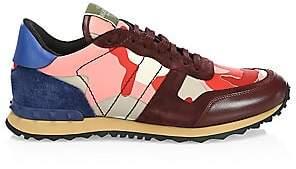Valentino Men's Garavani Rockrunner Camouflage Sneaker