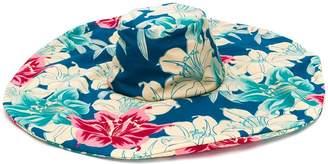Etro floral print sun hat