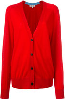 Diane von Furstenberg cashmere button-up cardigan