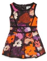 Milly Little Girl's Pleated Floral Dress