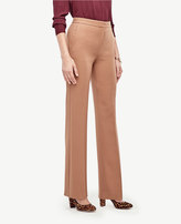 Ann Taylor The Flare Pant in Stretch