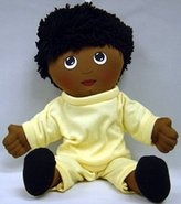 Children's Factory Childrens Factory - Ethnic Doll in Sweat Suit - Black Skin Tone