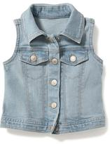 Old Navy Denim Vest for Toddler Girls