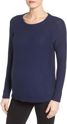 Loyal Hana Wiley Maternity/Nursing Sweater