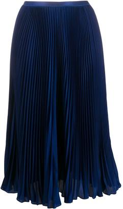 Polo Ralph Lauren Pleated Mid Skirt