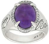 Scott Kay 4.00 ct Amethyst & Diamonique Sterling Ring